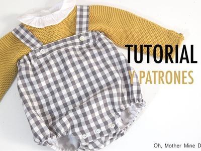 DIY Costura de ranita tipo peto para niños (patrones gratis)