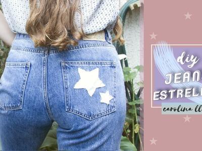 DIY Jeans con Estrellas - Stella McCartney Inspired | Carolina Llano