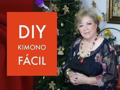 DIY:: KIMONO FÁCIL