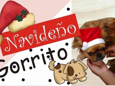 Hacer Gorrito Navideño para Perrito!! ????????????????