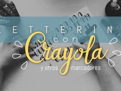 Lettering con Crayola | Hand Lettering en Español