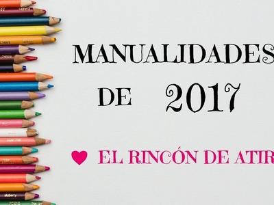 MANUALIDADES DE 2017 - EL RINCÓN DE ATIR