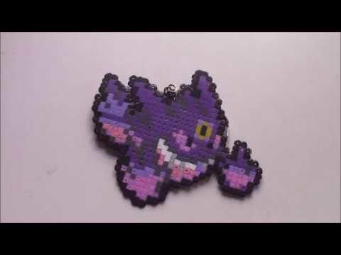Mega Gengar hama beads mini HD
