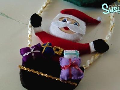 Moldes de Santa Claus para Navidad 2017 Gratis