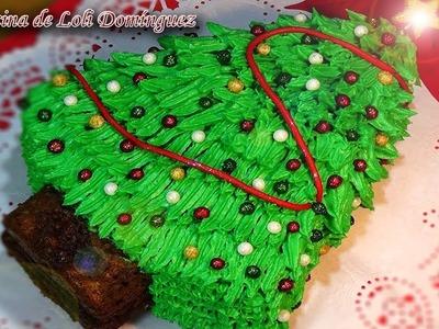 Receta Carrot cake de Navidad (Tarta de zanahoria y nueces) - Recetas de cocina, paso a paso