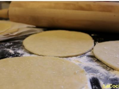 Receta:  Masa para Tapas de Empanadas! - LaCocinadera