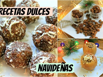 Recetas dulces navideñas