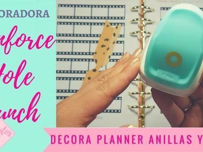 Reinforce Hole Punch  WeR para reforzar decorar planner de anillas tags etiquetas WeR Memory Keepers