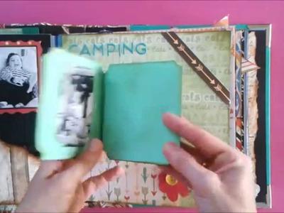 Scrapbooking (álbum de fotos chico)