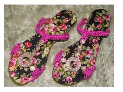 Zapatos tejidos a crochet EN 20 MINUTOS!!!