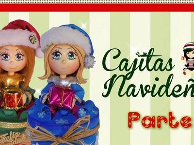 """♥ """"Arte Creaciones Magpy"""" Cajitas Navideñas(Parte 1) ♥"""