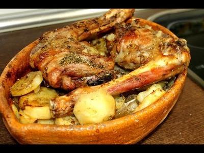 Cabrito asado con patatas ( Facil y espectacular)