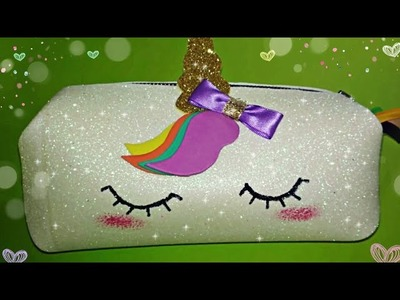 ????????Cartuchera de Unicornio Kawaii*????La que Se hizo viral en YouTube