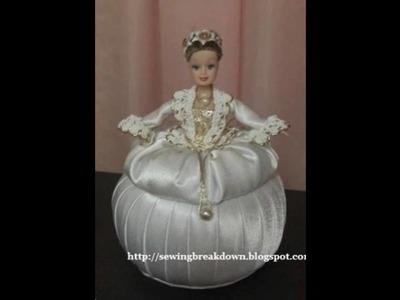 Cofres con muñecas de barbie