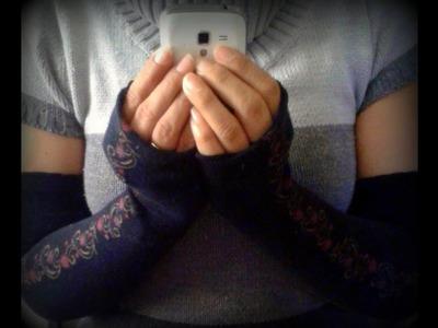 ¿Cómo hacer guantes fácil y sin costurar?