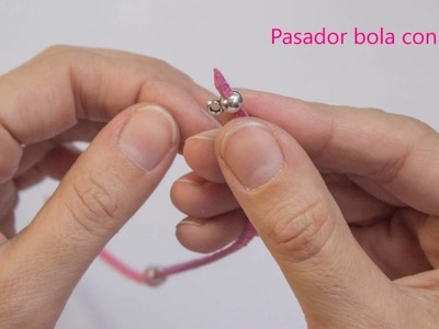 Como hacer pulsera antelina y lazo solidario lucha contra el cancer de mama
