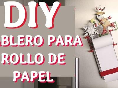 Cómo hacer un tablero con rollo de papel