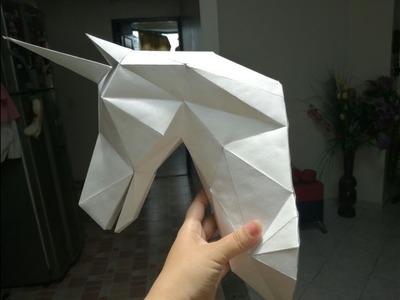 Como hacer un unicornio en 3D