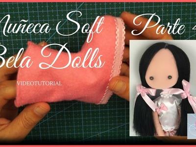 Como hacer una muñeca Soft Parte 4- Hacer botas para muñeca soft