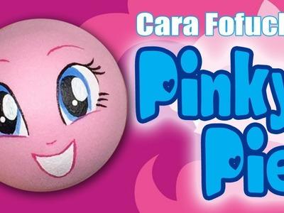 Como pintar cara para fofucha Pinky Pie (Equestrian Girls)