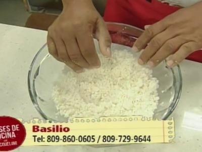 Como preparar Empanadas de Yuca en Clases de Cocina con Jacqueline (2.5)