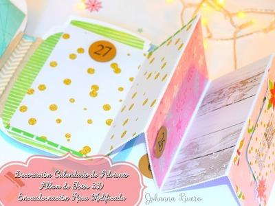 Decoración Calendario de adviento Album navidad 2do
