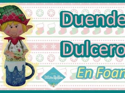 DIY Dulcero Navidad en Foamy Victoria RodAcu