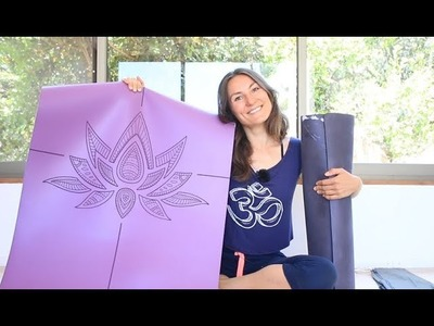 Nuevo hermoso diseño de yoga mat que hice yo | La mejor calidad de tapete que has usado