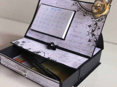 Ordenador para escritorio. ideas y manualidades