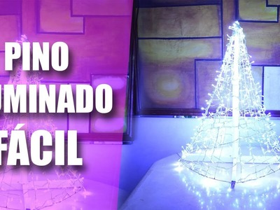 PINO NAVIDEÑO CON LUCES- HAZLO TU MISM@