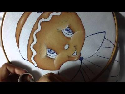 Pintura En Tela Jengibre # 1 Con Cony