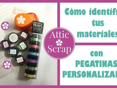 TIP: Cómo identificar tus materiales con pegatinas personalizadas