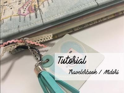 Travelerbook Midori  - Cuaderno de viajes y aventuras