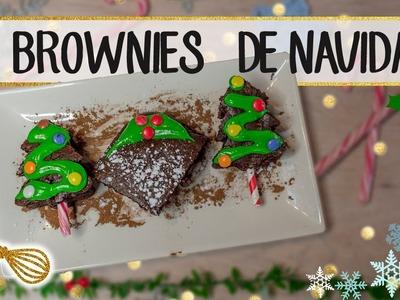 1 RECETA DE NAVIDAD 3 ESTILOS | Brownie de chocolate navideño