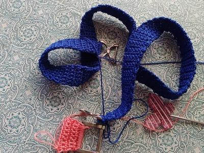 Asas para bolsos tejidos a crochet