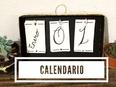 Bonita idea ???? para calendario ???? 2018 , Manualidad ✂️ , DIY, ||LUCELI||????????
