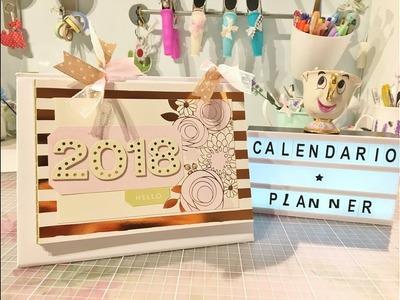 Calendario 2 en 1. Planificador de escritorio.