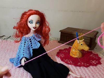 Capita Iris para Barby a crochet