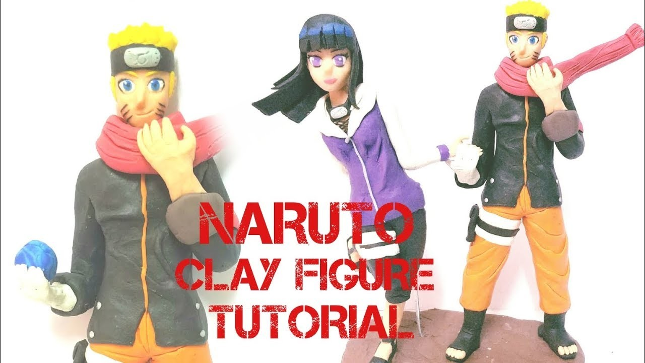 "COMO HACER A NARUTO ""THE LAST"" EN PLASTILINA. HOW TO MAKE NARUTO ""THE LAST"" CLAY FIGURE TUTORIAL!!"