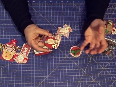 Cómo hacer  tus propios adornos para scrapbook . Embellecedores de scrapbook.Embellishments