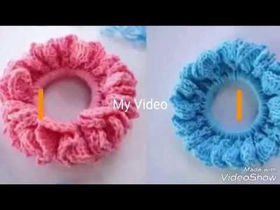 Como puedes hacer tu propria coleta a crochet - paso a paso