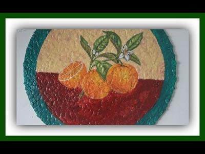 Decoupage sobre cáscara de huevo - Reciclado - Técnicas decorativas - Tutorial - DIY