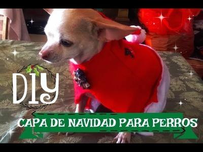DIY: Capa Para Perros (Navidad)