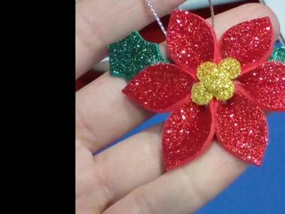 DIY flor de Navidad