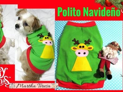 DIY - Polito Navideño para Perritos.