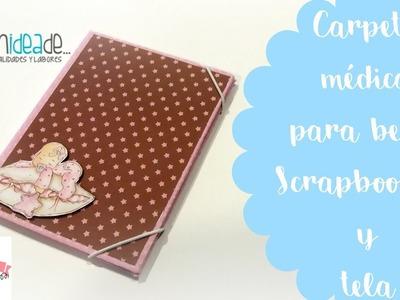 DIY Scrap: Carpeta médica para documentos de bebé