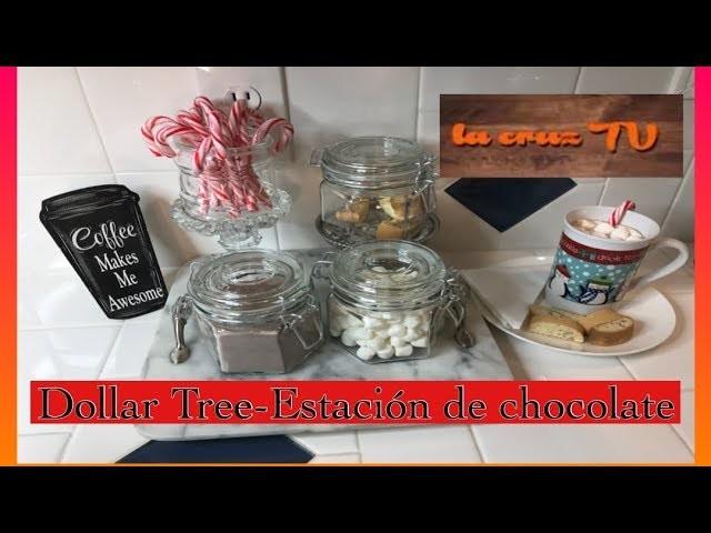 DOLLAR TREE-HOT COCOA BAR-ESTACION DE CHOCOLATE