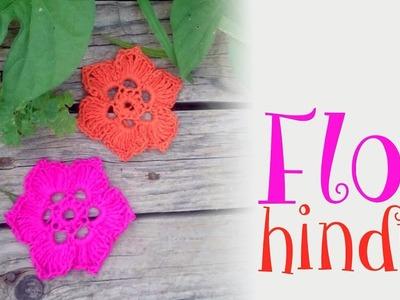 Flor Hindú a crochet