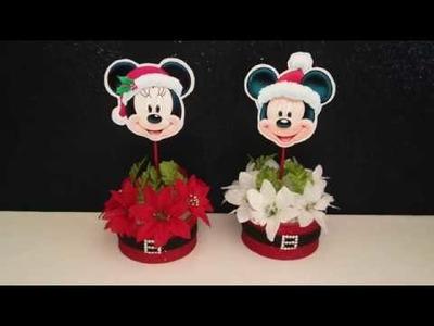 Maraton Navideño - Decoración de Minnie Mouse
