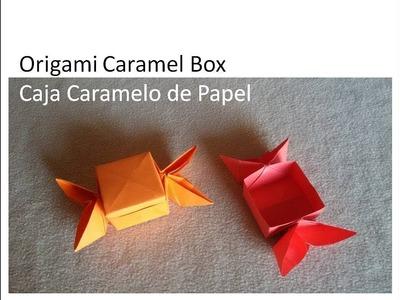 Origami Candy Box - Caja Caramelo de Papel